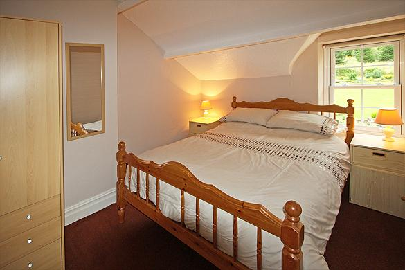 Interior of Rose Cottage: Second                   double bedroom