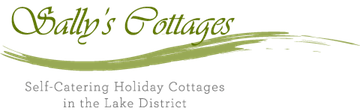 Sally's Cottages logo, with link